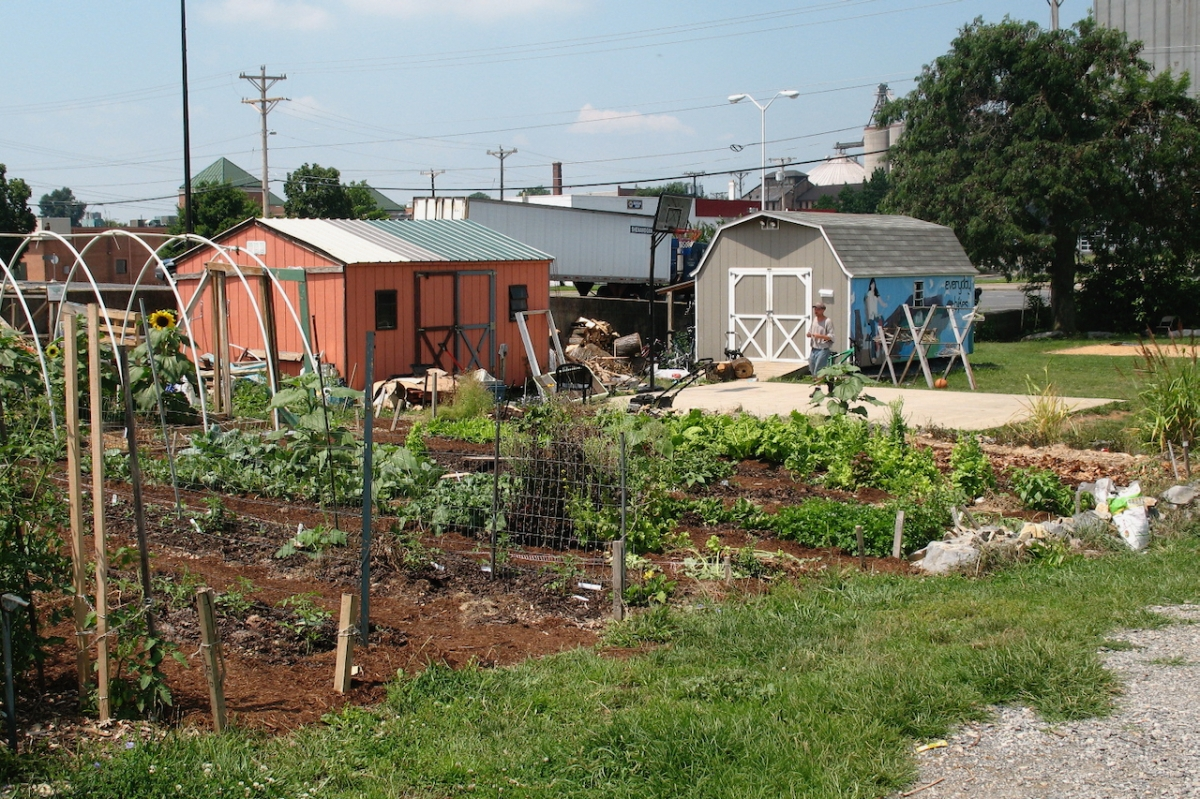 Composting and Gardening at Our CommunityPlace